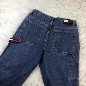 Vintage Tommy Hilfiger Carpenter Jeans Flag Logo